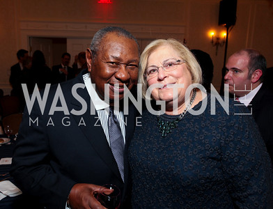 Freddy Cole and Linda Sonnenreich. A dinner and concert in support of the 2010 DC Jazz Festival. The Madison Hotel. October 27, 2009. photos by Tony Powell