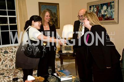Jay Newton Small, Gretchen Toles, Milton Theo, Deirdre Kline (Photo by Betsy Spruill Clarke)
