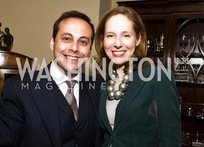 Imran Ahmad Khan, Juliana Glover (Photo by Betsy Spruill Clarke)