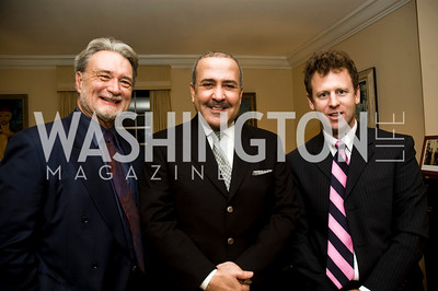 Phil Karber, Bander Alsaud, Mike O'Hanlon (Photo by Betsy Spruill Clarke)