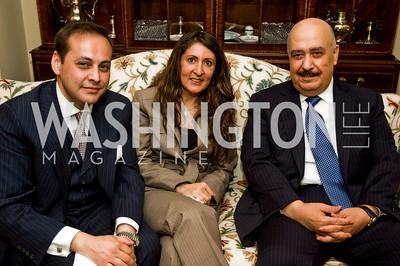 Imran Ahmad Khan, Herro Mustafa, Fahad bin Abdullah bin Muhammad Al-Saud (Photo by Betsy Spruill Clarke)