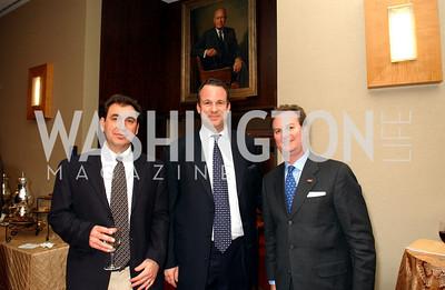 Paul Speroni, Kirk Rostron, Chris Norris, Photo by James Brantley