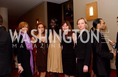 Robin Richter, Annette Aaron, Nunu Deng, Liliya Bulgadova, Julia Bellafiore, Photo by James Brantley