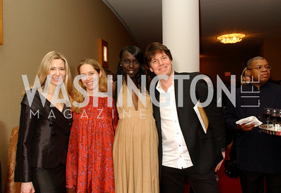 Pia-Maria Norris, Nancy Bagley, Nunu Deng, Joshua Bell, Photo by James Brantley