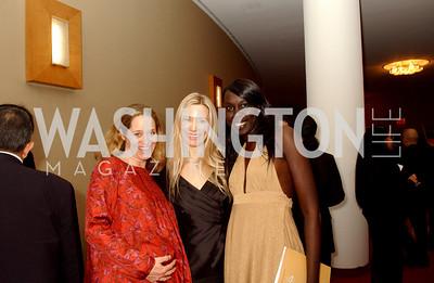 Nancy Bagley, Pia-Maria Norris, Nunu Deng, Photo by James Brantley