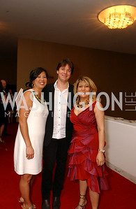 Tina Mather, Joshua Bell, Jenny Saad, Photo by James Brantley