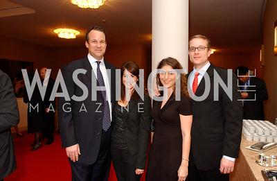 Kirk Rostron, Joy Rostron, Nichole Daniels, Andre Daniels, Photo by James Brantley