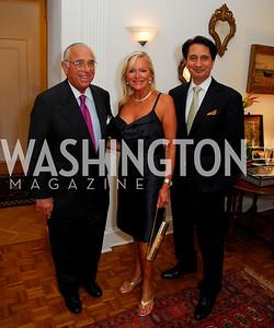 Donald Sigmund, Debbie Sigmund, Said Jawad, Photograph by Kyle Samperton