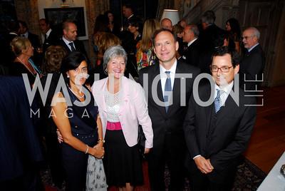 Kyle Samperton,September 15,2009,Farewell Party for Amb. Castellaneta at the Residence of the Italian Ambassador,Lorredona Sinisi,Martha Ann Alito,Justice Samuel Alito,Giannicola Sinisi