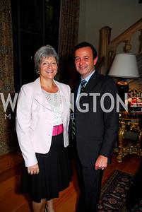 Kyle Samperton,September 15,2009,Farewell Party for Amb. Castellaneta at the Residence of the Italian Ambassador ,Martha Ann Alito,Sebastiano Cardi
