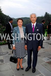 Kyle Samperton,September 15,2009,Farewell Party for Amb. Castellaneta at the Residence of the Italian Ambassador,May Yang,Amb.Samir Shakir Mahmood Sumaida'ie