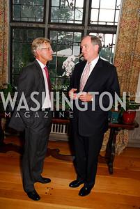 Kyle Samperton,September 15,2009,Farewell Party for Amb. Castellaneta at the Residence of the Italian Ambassador,Amb Jonas Hafstrom,Bob Kimmett