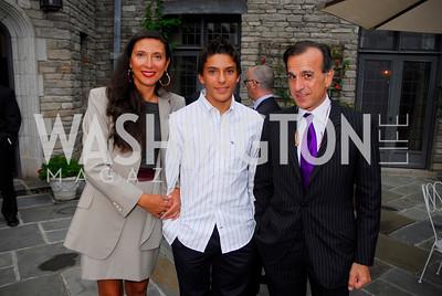 Kyle Samperton,September 15,2009,Farewell Party for Amb. Castellaneta at the Residence of the Italian Ambassador,Albini Valentino,Ivan Valentino,Paolo Valentino