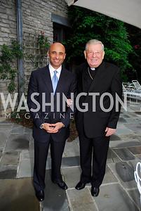 Kyle Samperton,September 15,2009,Farewell Party for Amb. Castellaneta at the Residence of the Italian Ambassador,Amb.Yousef Al Otaiba,Archbishop Pietro Sambi