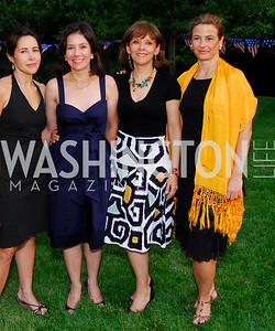 Luz Lopez, Michele Morales, Claudia Franco, Marta Guzman