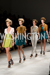 Derek Lam Runway Show, Mercedes-Benz Fashion Week Spring 2010, Photos by Jodi King