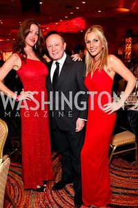 Malinda Walker, Franco Nuschese, Jessica Jennings. Fight Night 20th Anniversary. Hilton Hotel. November 5, 2009. photos by Tony Powell