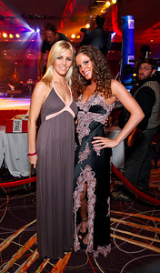 Grace Brennan, Rachel Knop. Fight Night 20th Anniversary. Hilton Hotel. November 5, 2009. photos by Tony Powell