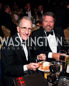 Gary Rosenthal and Glenn Howard. Fight Night 20th Anniversary. Hilton Hotel. November 5, 2009. photos by Tony Powell
