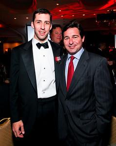 Joe Robert II. and John Mason II. Fight Night 20th Anniversary. Hilton Hotel. November 5, 2009. photos by Tony Powell