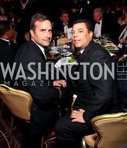 Pete Kirsch and Rick Kay. Fight Night 20th Anniversary. Hilton Hotel. November 5, 2009. photos by Tony Powell