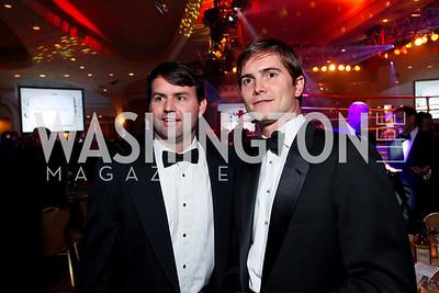 Roger Edwards and Victor Maddux. Fight Night 20th Anniversary. Hilton Hotel. November 5, 2009. photos by Tony Powell