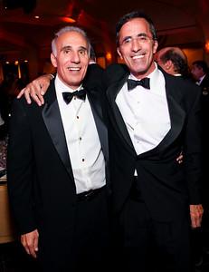 Mith and Josh Rales. Fight Night 20th Anniversary. Hilton Hotel. November 5, 2009. photos by Tony Powell