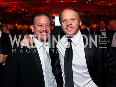 Raul Fernandez and Mark Ein. Fight Night 20th Anniversary. Hilton Hotel. November 5, 2009. photos by Tony Powell