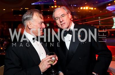 David Ignatius and George Vradenburg. Fight Night 20th Anniversary. Hilton Hotel. November 5, 2009. photos by Tony Powell