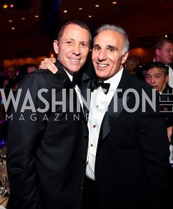 Joe Robert and Mitch Rales. Fight Night 20th Anniversary. Hilton Hotel. November 5, 2009. photos by Tony Powell