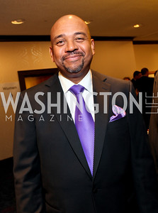 Sportswriter Michael Wilbon. Fight Night 20th Anniversary. Hilton Hotel. November 5, 2009. photos by Tony Powell