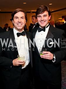Bobby Schwartz and ING's Randall Casper. Fight Night 20th Anniversary. Hilton Hotel. November 5, 2009. photos by Tony Powell