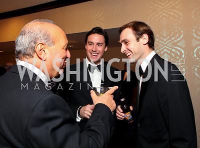 Frank Anton, John Galligan, Nick Hayman. Fight Night 20th Anniversary. Hilton Hotel. November 5, 2009. photos by Tony Powell