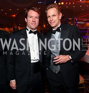 Michael Saylor and Russ Ramsey. Fight Night 20th Anniversary. Hilton Hotel. November 5, 2009. photos by Tony Powell