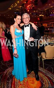 Bill Sudow and Ashley Geisbert. Fight Night 20th Anniversary. Hilton Hotel. November 5, 2009. photos by Tony Powell