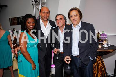 Aba Kwawu, Pasquale Depandi, Angelo Pussaretta, Iraklis Karabassis, Photograph by Kyle Samperton