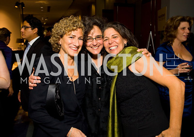 Heidi Pasichow, Andrea Sharrin, Amy Mintz. 13th Annual Human Rights Campaign National Dinner. DC Convention Center. October 10, 2009. photos by Tony Powell
