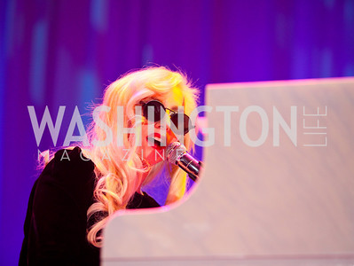 Lady Gaga. 13th Annual Human Rights Campaign National Dinner. DC Convention Center. October 10, 2009. photos by Tony Powell