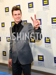 Gavin Creel. 13th Annual Human Rights Campaign National Dinner. DC Convention Center. October 10, 2009. photos by Tony Powell