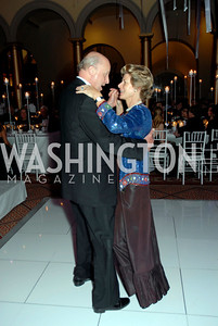 John Negroponte and Diana Negroponte