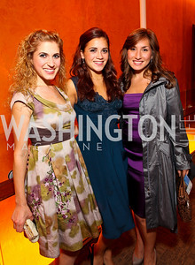 Actresses Stacey Jackson, Catalina Lavalle, Emily Levey. Harman Center for the Arts Annual Gala. October 25, 2009. photos by Tony Powell