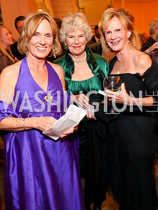Dane Nichols, Ann Pincus, Leslie Clevenger. Harman Center for the Arts Annual Gala. October 25, 2009. photos by Tony Powell