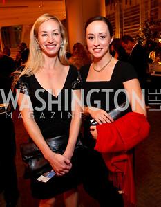 Christina Berkemeyer and Katherine Potosky. Harman Center for the Arts Annual Gala. October 25, 2009. photos by Tony Powell