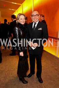 Mirella and Dani Levinas. Harman Center for the Arts Annual Gala. October 25, 2009. photos by Tony Powell
