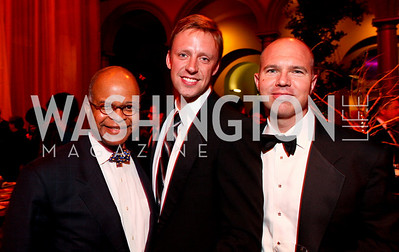 Riley Temple, David Bediz, David Catania. Harman Center for the Arts Annual Gala. October 25, 2009. photos by Tony Powell