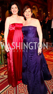 Roxanne Roberts, Adrienne Arsht. Harman Center for the Arts Annual Gala. October 25, 2009. photos by Tony Powell