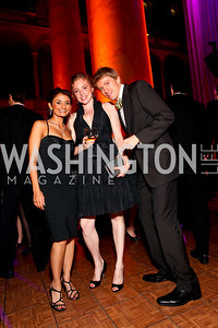Anjali Bhimani, Sarah Mollo-Christensen, Patrick Vaill. Harman Center for the Arts Annual Gala. October 25, 2009. photos by Tony Powell