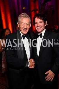 Sir Ian McKellen and Doug Smith. Harman Center for the Arts Annual Gala. October 25, 2009. photos by Tony Powell