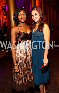 Shannon Dorsey and Catalina Lavalle. Harman Center for the Arts Annual Gala. October 25, 2009. photos by Tony Powell