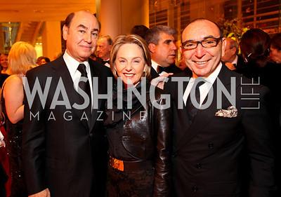 Huda Farouki, Mirella and Dani Levinas. Harman Center for the Arts Annual Gala. October 25, 2009. photos by Tony Powell